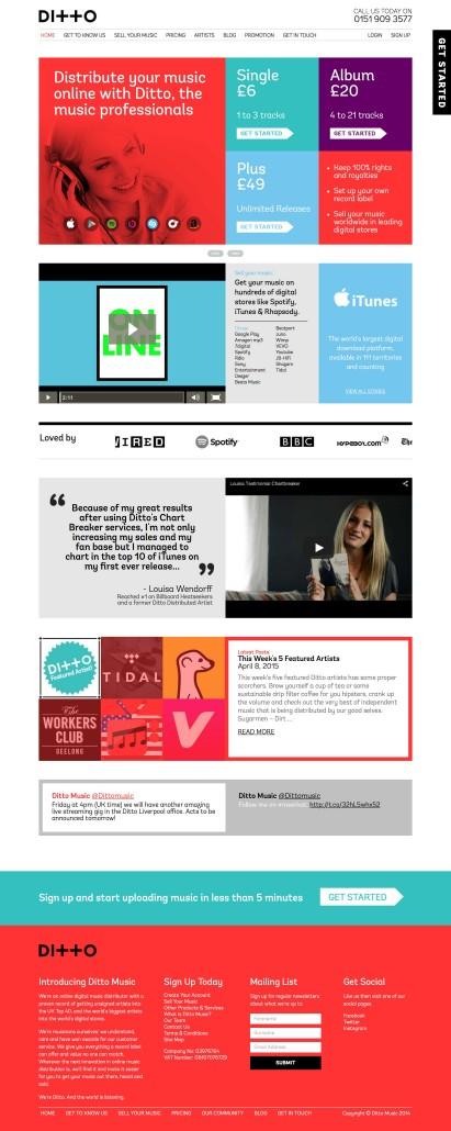 Servizi Promuovere Musica Online: Ditto Music