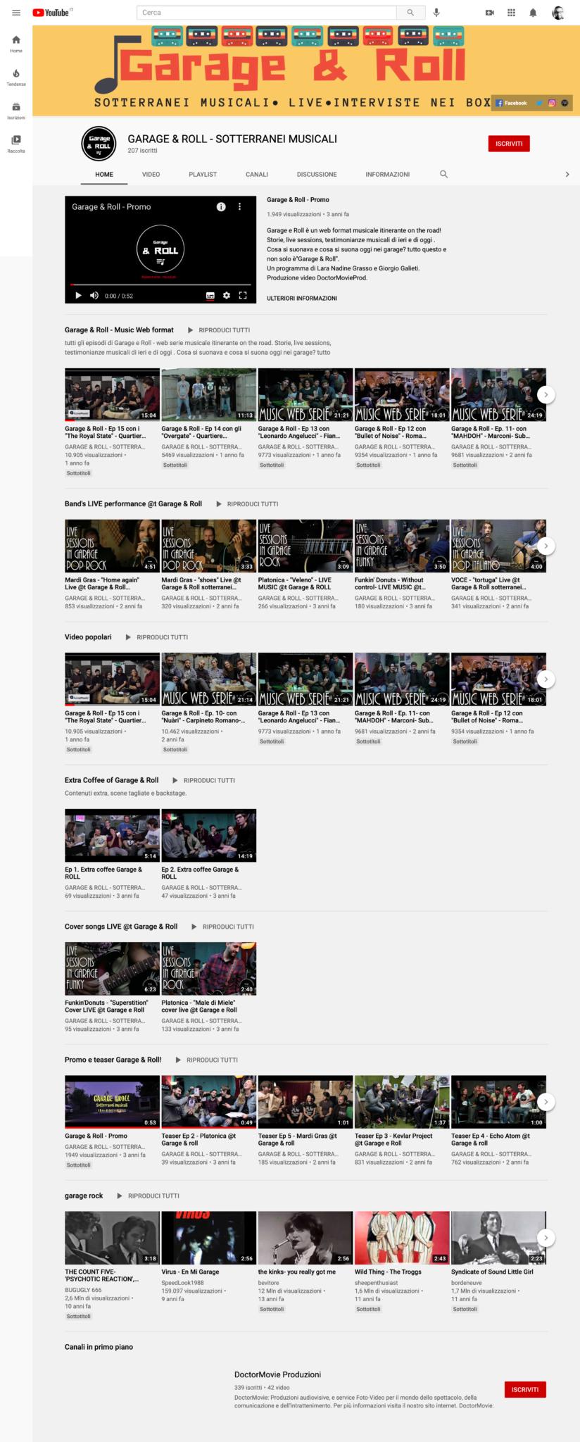 GARAGE & ROLL YouTube