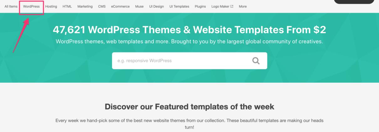 Template WordPress Musica
